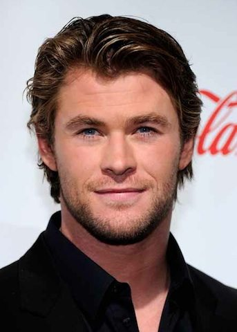 Chris Hemsworth and his godlike hair