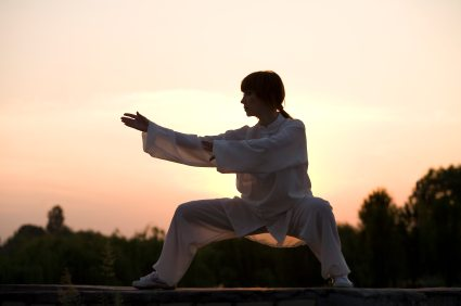 Tai chi is a form of moving meditation that carries the side-benefit of teaching you how to kick someone's ass.