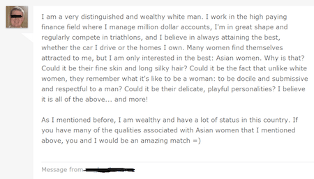 Can't imagine why this guy isn't knee-deep in pussy right now.