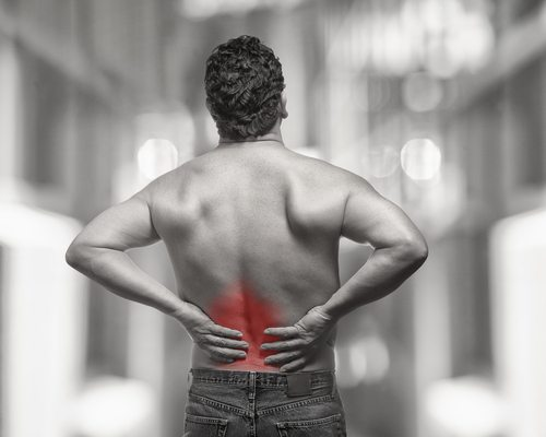 No jokes here. You'd be amazed at how many back problems result from poor posture.