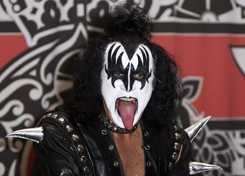 Except, of course, for one incredibly awkward interview with Gene Simmons.