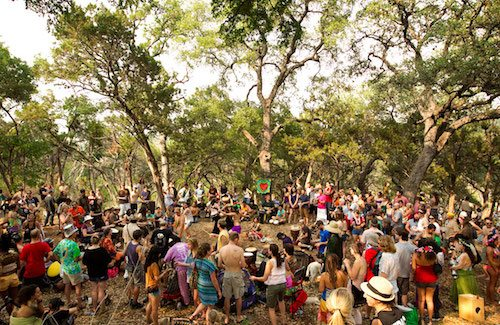 Unless you're in Austin, where Eeyore means drum circles, hippies and weed.