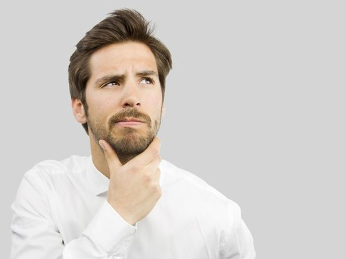 Stroking you beard while thinking also increases your intellectual prowess.
