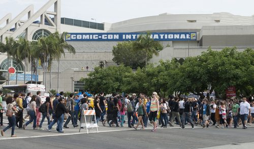 Something to think about the next time you're waiting to get into Hall H at SDCC. (Credit: justasc / Shutterstock.com)