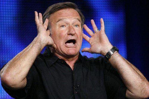 Just try imagining being with Robin Williams in his mountains-o'-coke days...