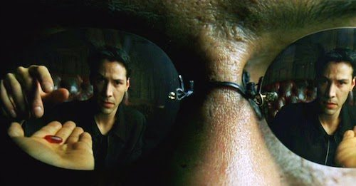 """Take the red pill and spend a LOT of time yelling on the Internet."""