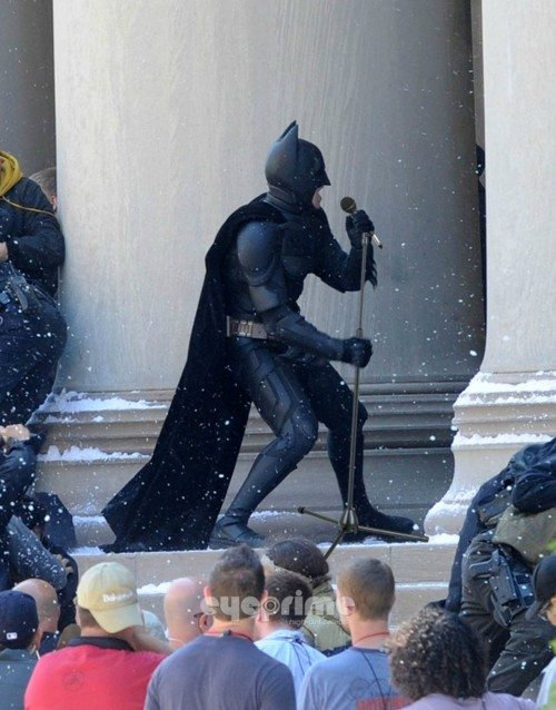 Which is why Batman's known for mastery of stand-up comedy.
