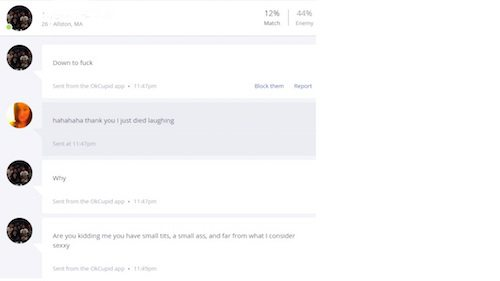 Ah, hell-is-okcupid, you're proof I will never be out of work...