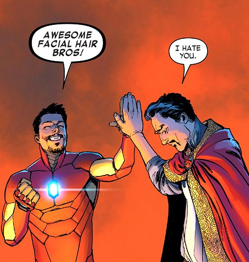 If this line doesn't show up in Infinity War, the Russo Brothers have failed.