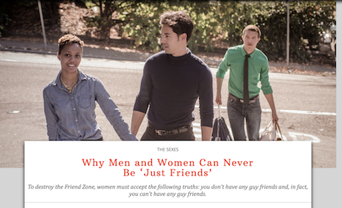 With guy friends women 7 Reasons