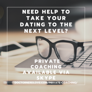 private coaching is available at doctornerdlove.com/private-coaching