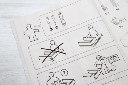 Ikea furniture instructions